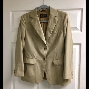 Loro Piana light brown blazer size IT44/us M